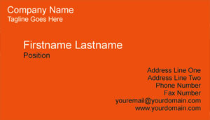Businesscardland basic business card template businesscardland flashek Images